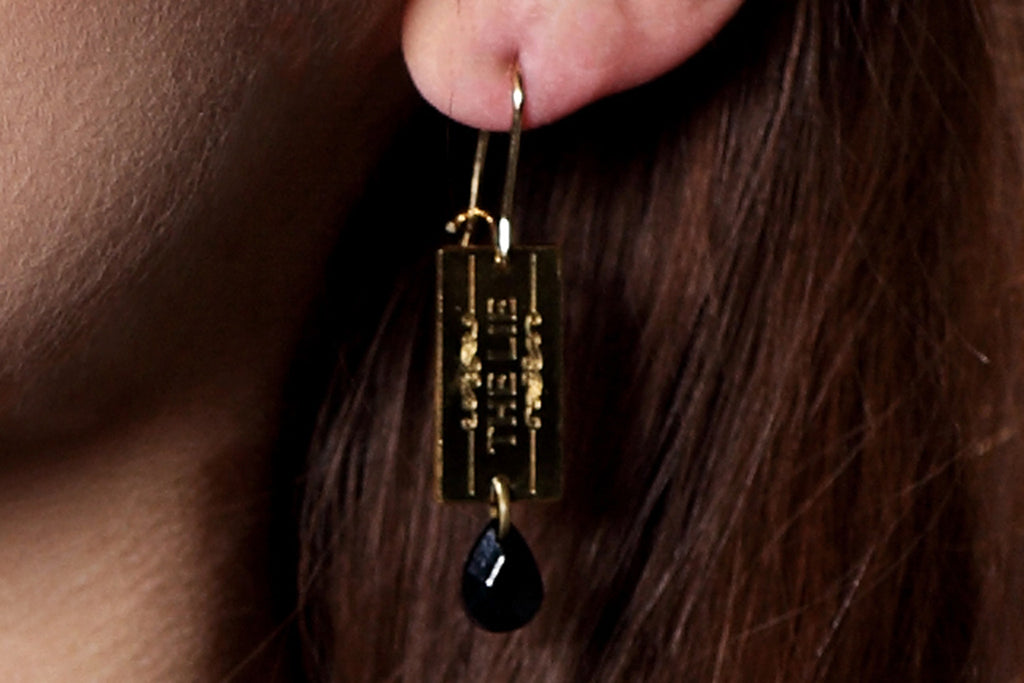 Chainy Chic 4 Chick - CC4C Golden Drop Earrings