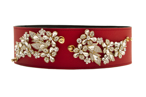 NEW ARRIVAL - Lux Red Christmas Belt