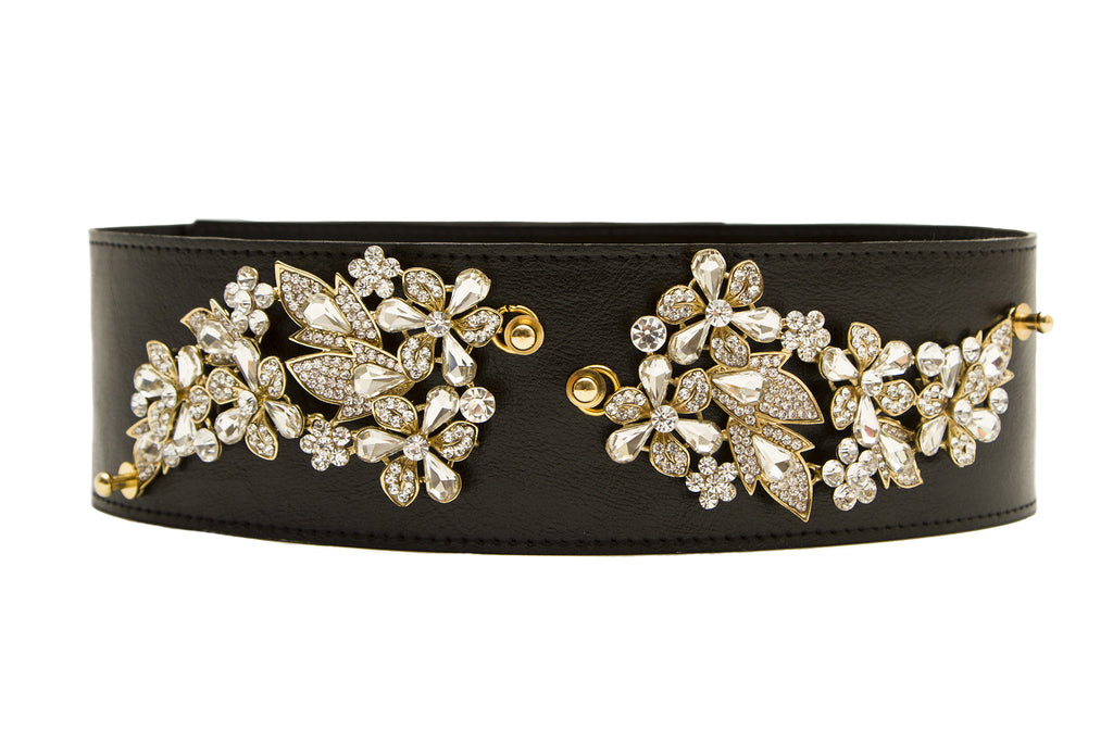 NEW ARRIVAL - Lux Black Christmas Belt