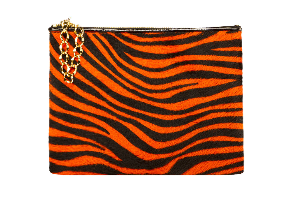 NEW ARRIVAL - Sexy Red Zebra Pochette