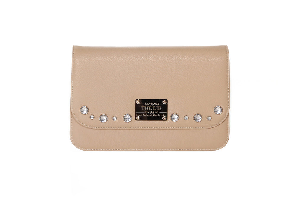 Classic Clutch Powder Pink Diamond