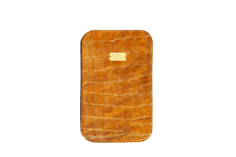 Golden Croco iPhone 5 Case
