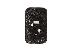 Shiny Black Lace Diamond iPhone 5 Case