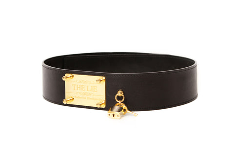 Classic Lock Golden Waist Belt