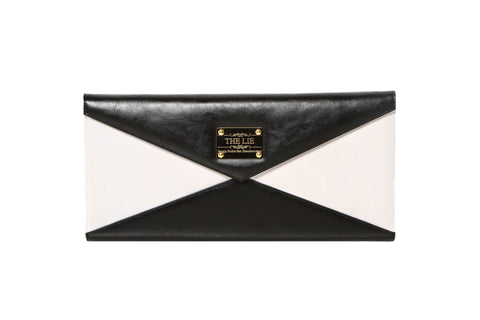 Evening Envelope Black & White