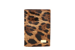 Golden Croco Passport Case