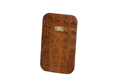 Brown Croco iPhone 5 Case