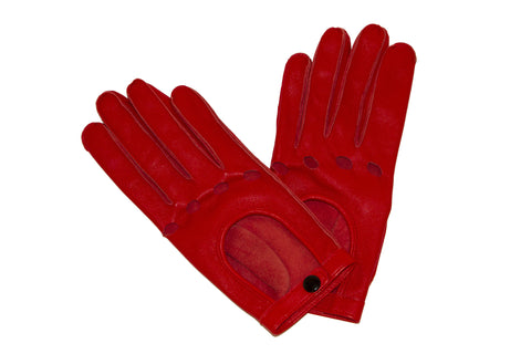 NEW ARRIVAL - Sexy Red Biker Gloves