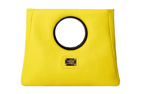 Statement Bag Fashionista Lemon