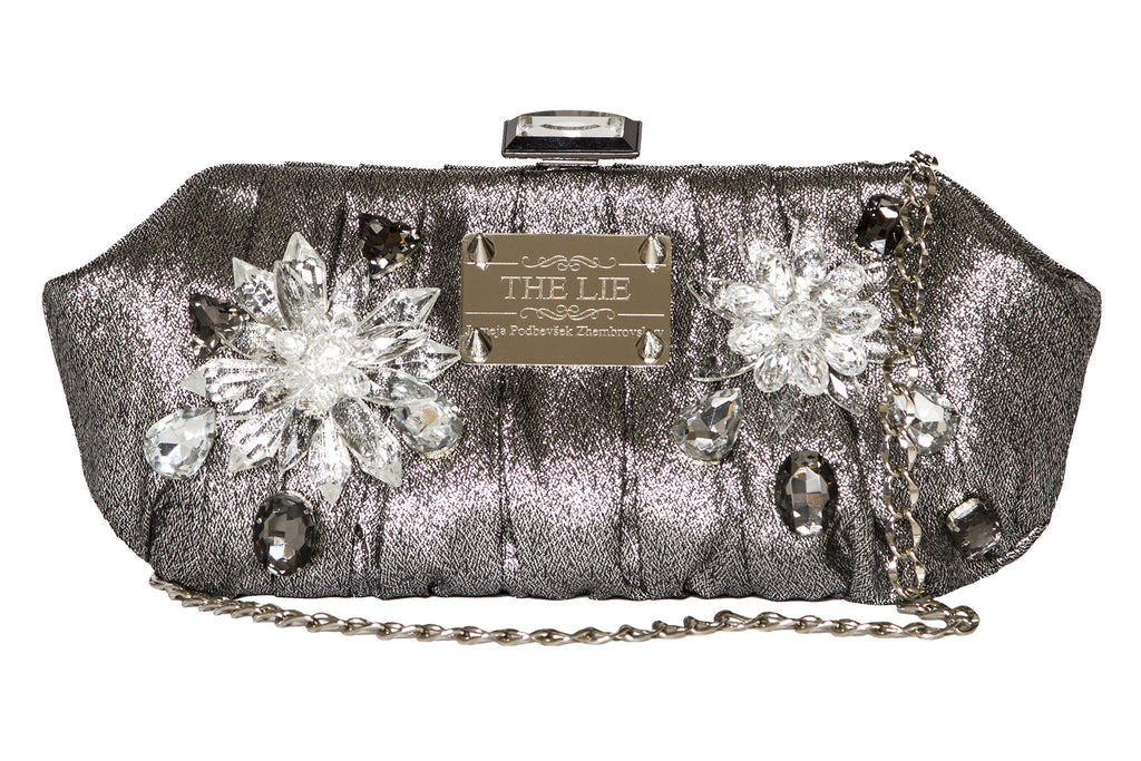 NEW ARRIVAL - Frozen Garden Clutch