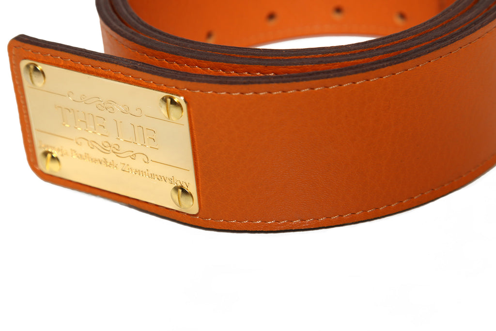 Classic Unisex Orange Hip Belt