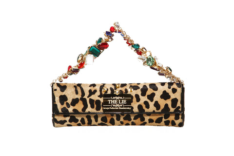 Animal Instinct Gemstones Treasure Clutch