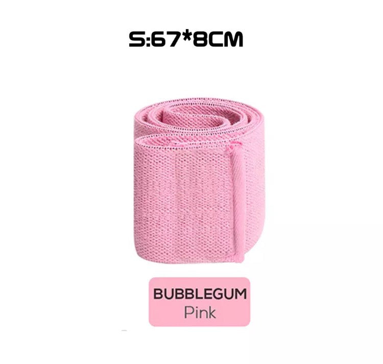 Ladies Single Fabric Fitness Resistance Bands