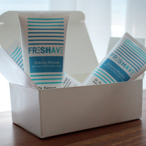 Freshave Shaving Mousse - 4 pack - 2oz