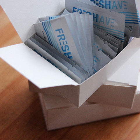 Freshave Travel Pack - 50 Pack Box