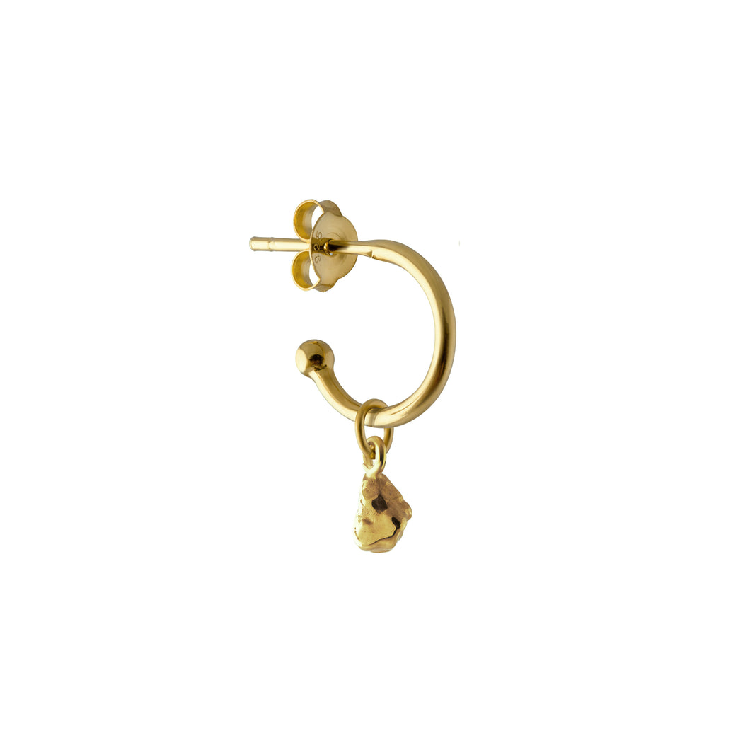 NUGGET CHARM GOLD