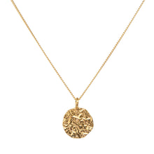 Load image into Gallery viewer, MELTED COIN NECKLACE GOLD