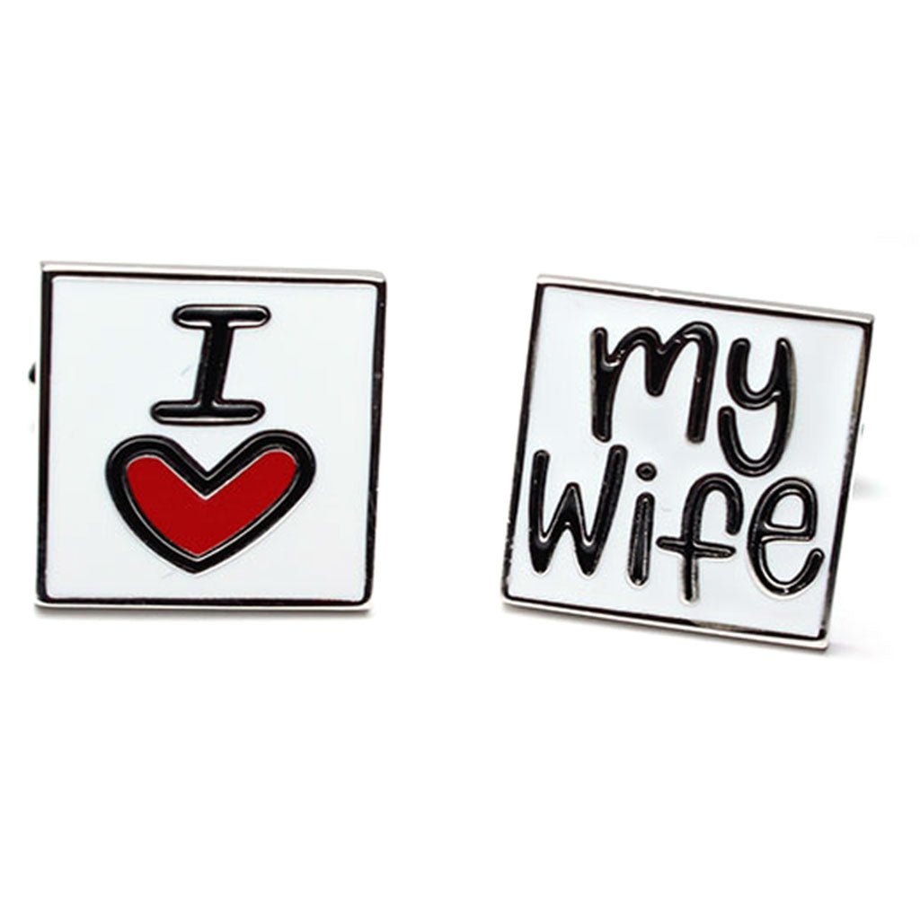 Mancuernillas I Love My Wife