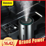 Baseus Car Air Purifier Humidifier Aluminium Alloy 300mL Auto Armo Diffuser Air Freshener Humidifier For Cars