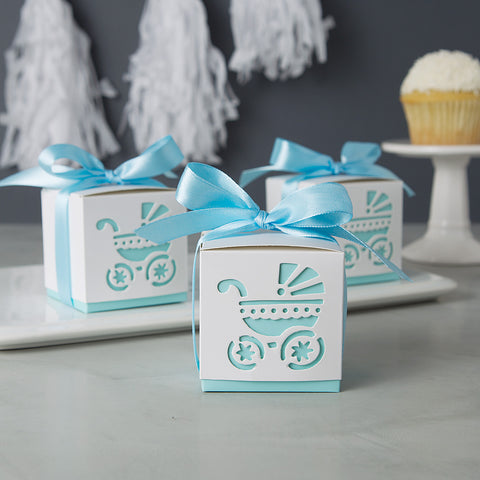 Baby Shower Favors Baby Carriage Blue Boy