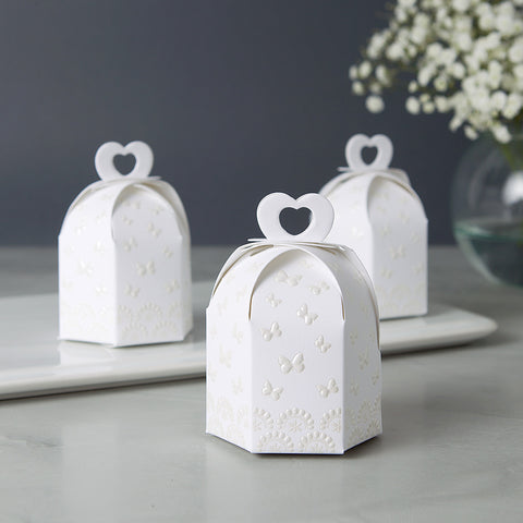 Bridal Shower Favors - Embossed Butterflies