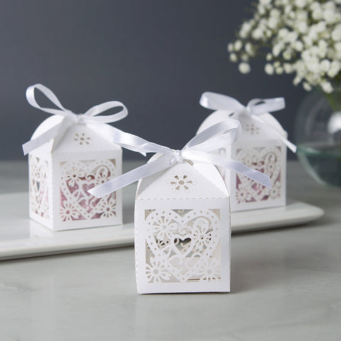 Bridal Shower Favors with Hearts