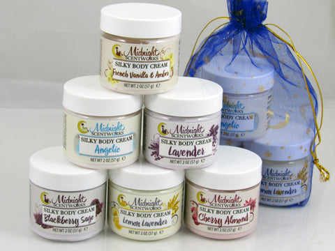 Body Cream Body Lotion Sampler Set Shea Butter