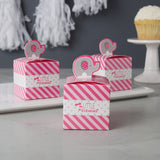 Pink Elephant Little Peanut Girl Baby Shower Favors