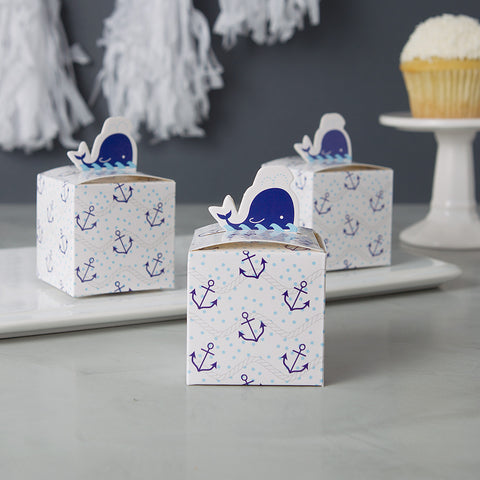 Baby Boy Shower Favors - Whale Theme