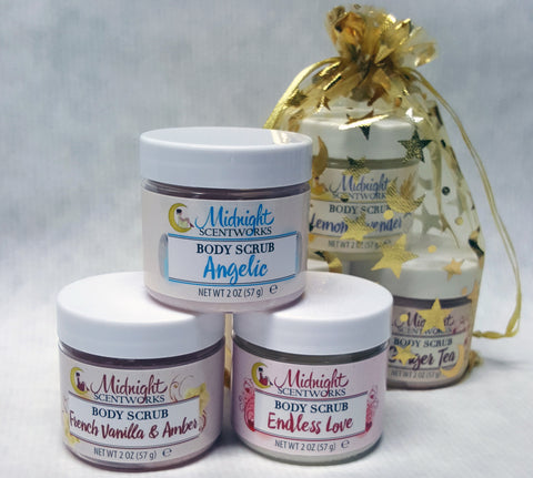 Body Scrub Sampler Set - The Perfect Birthday Gift