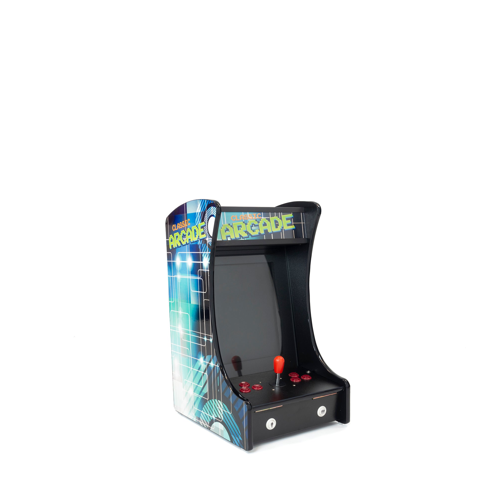 1P 412 Games Mini Tabletop Arcade
