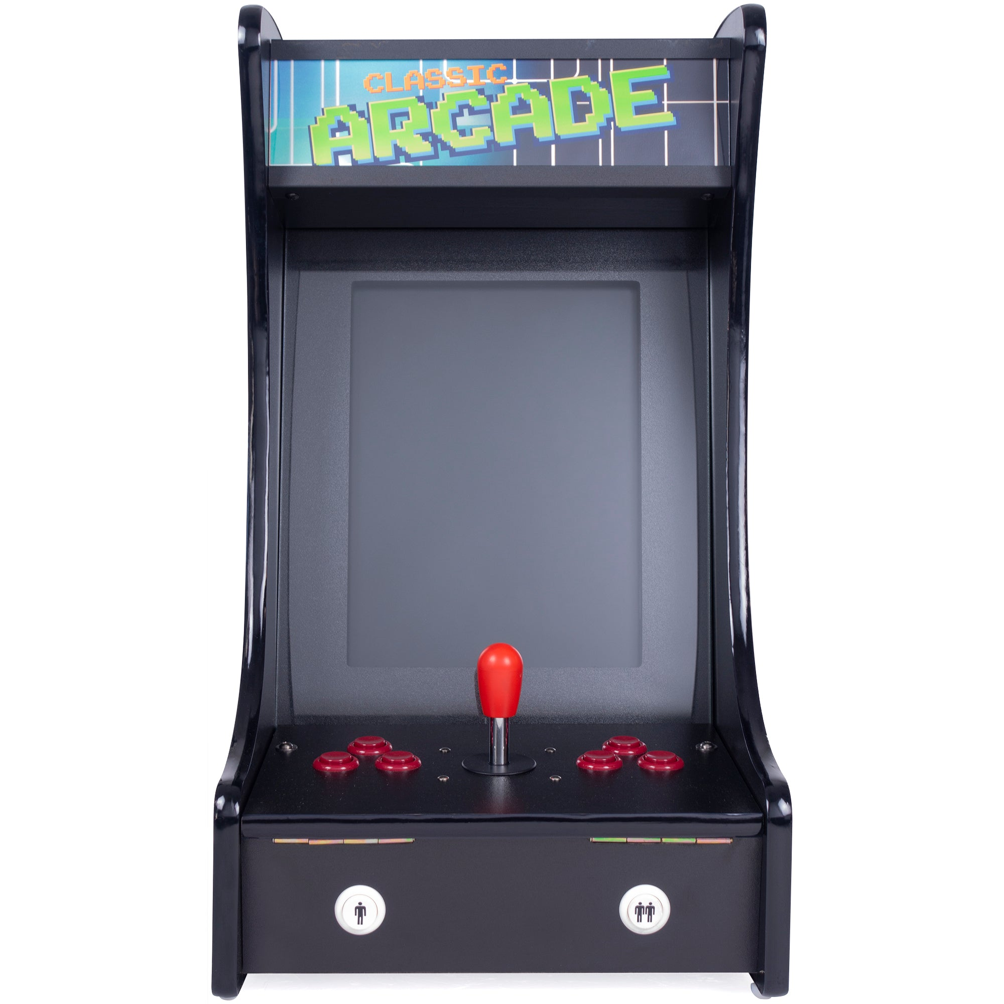 1P 412 Games Mini Tabletop Arcade Front