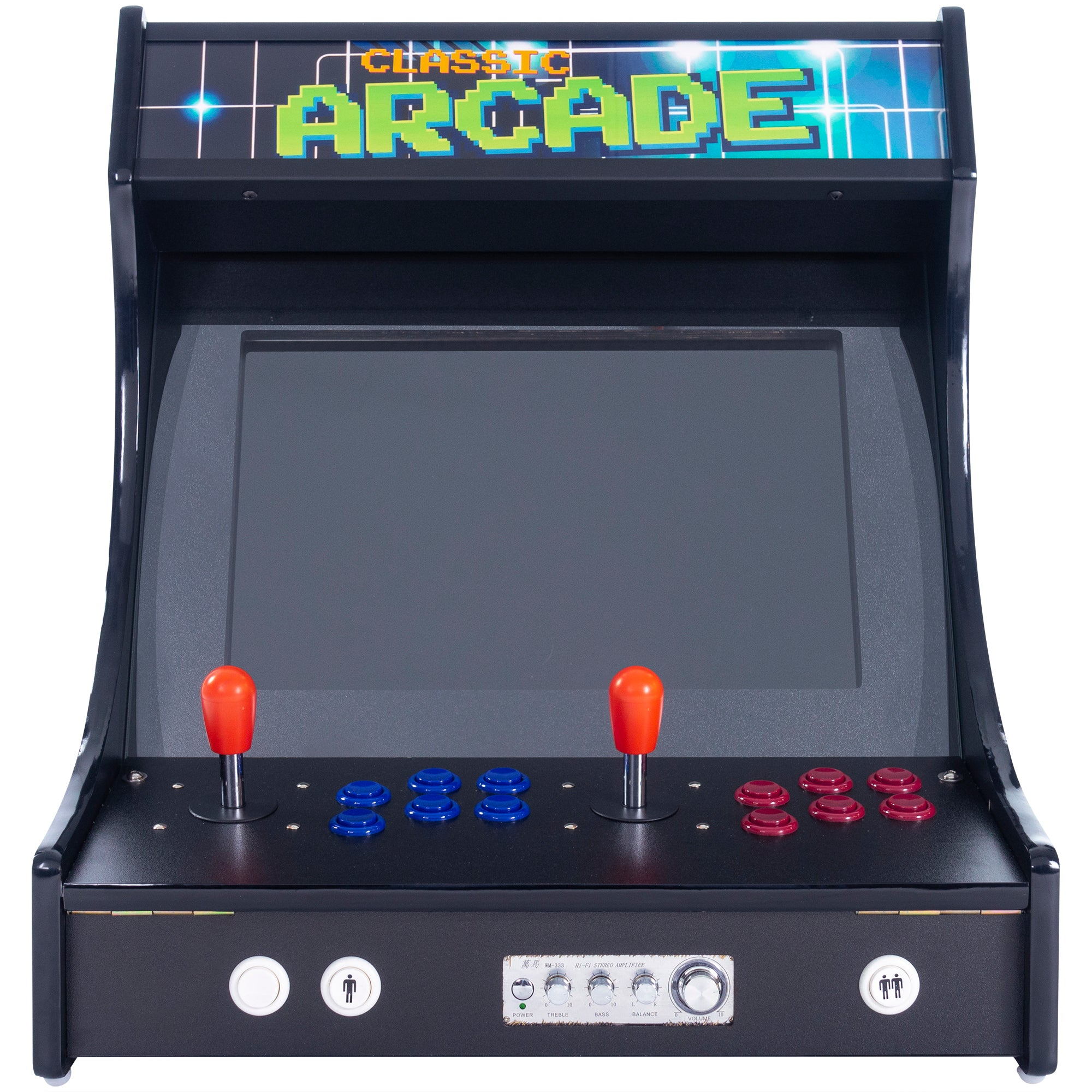 2P 3000 Games Mini Upright Arcade Front