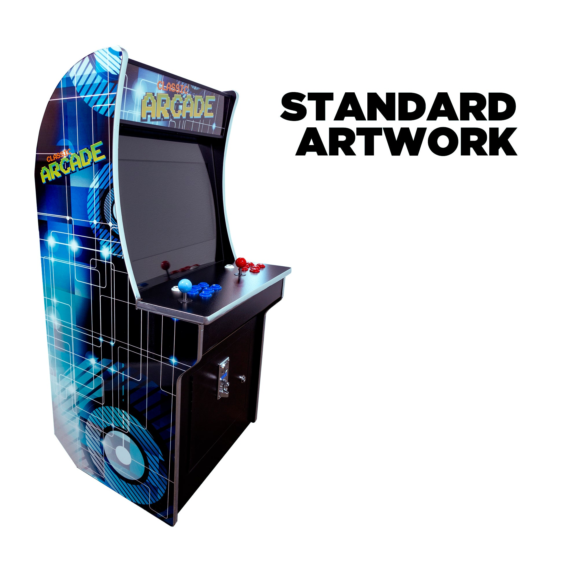 "151023 2 Player Mini Stand Up Arcade 21"" LCD Monitor"