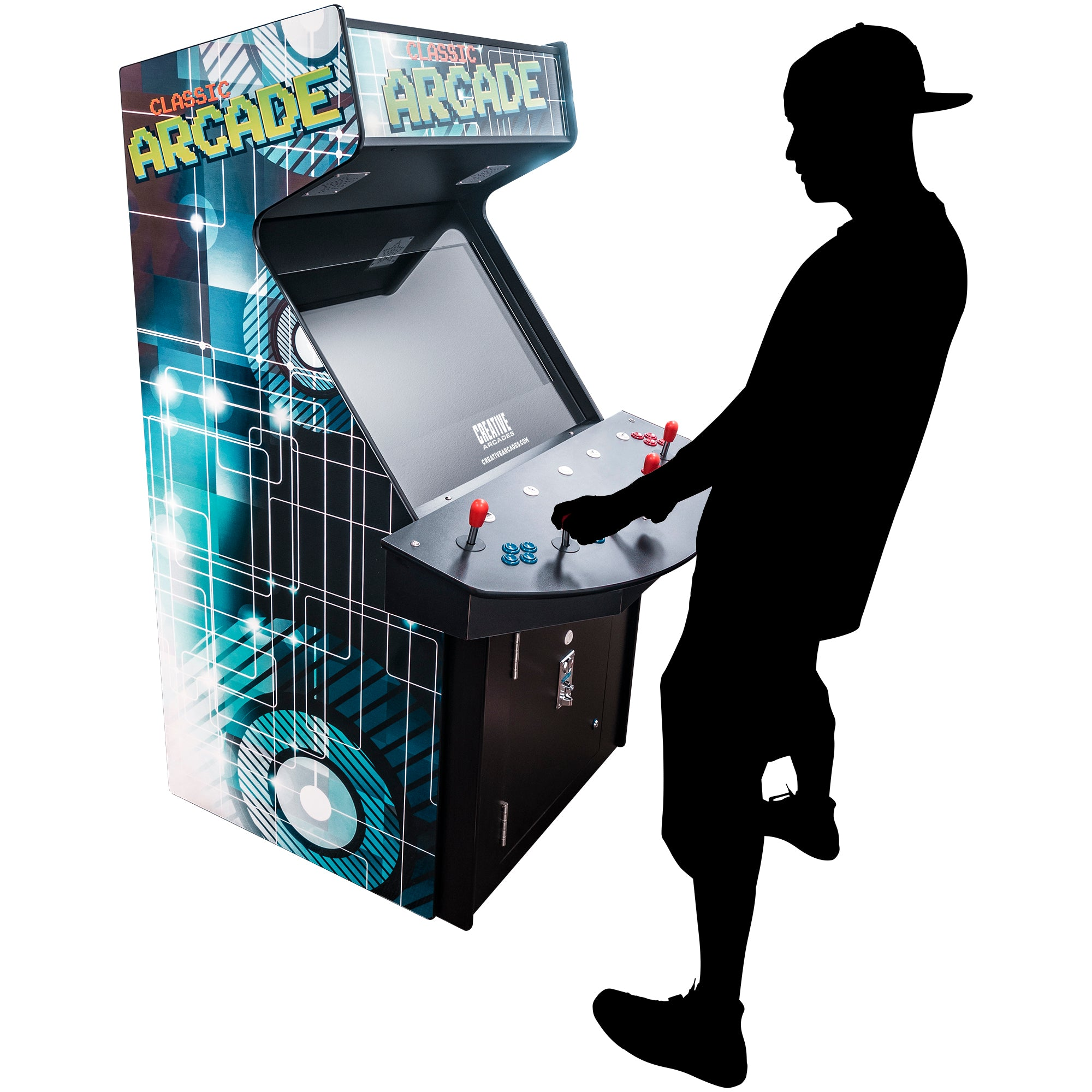 174135 Full Size Stand Up Arcade
