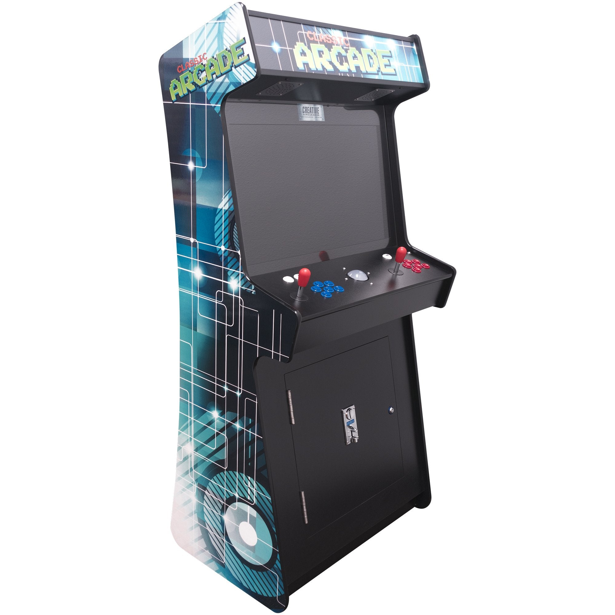 2 Player 3500 Games SLIM Stand Up Arcade