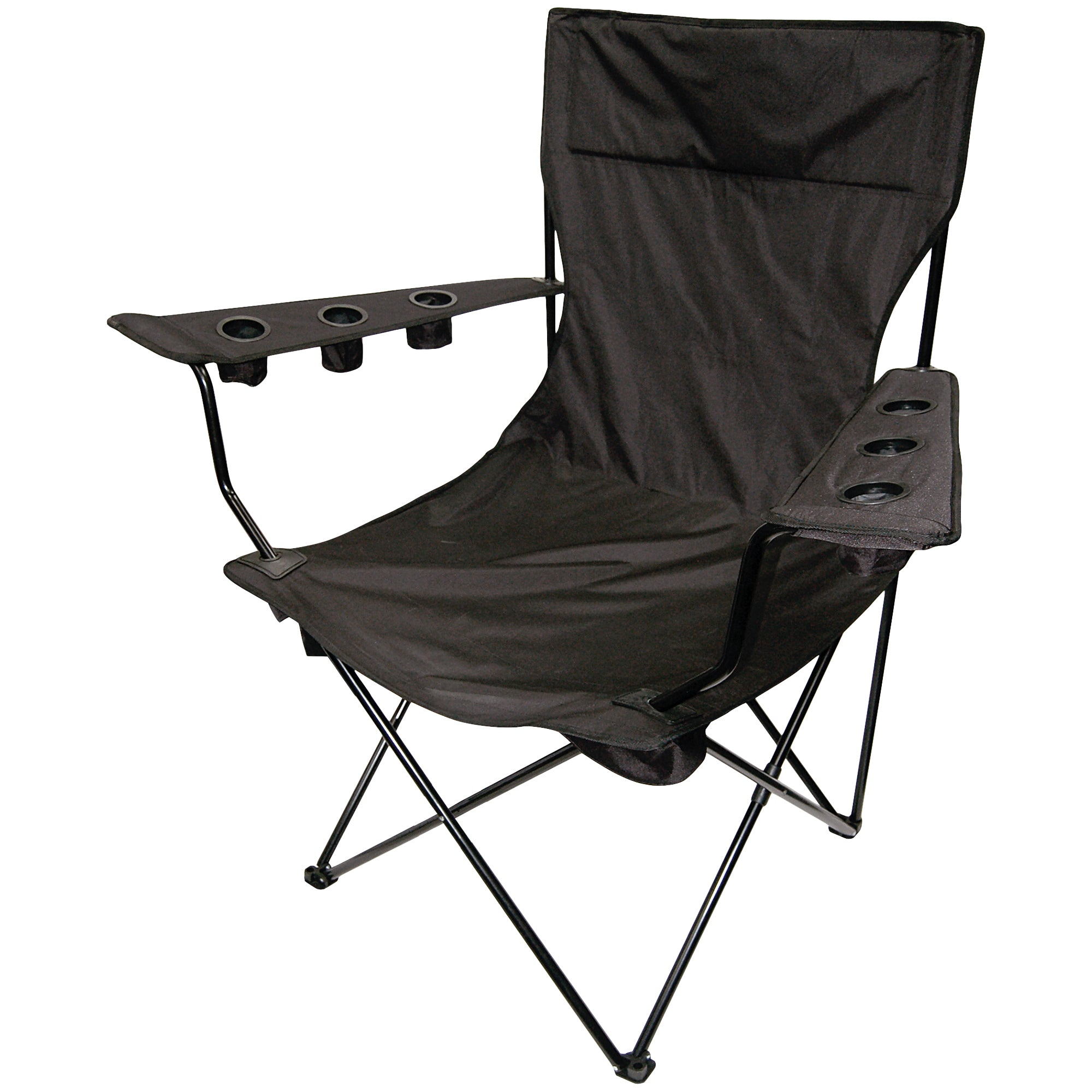 Giant Kingpin Folding Chair Black