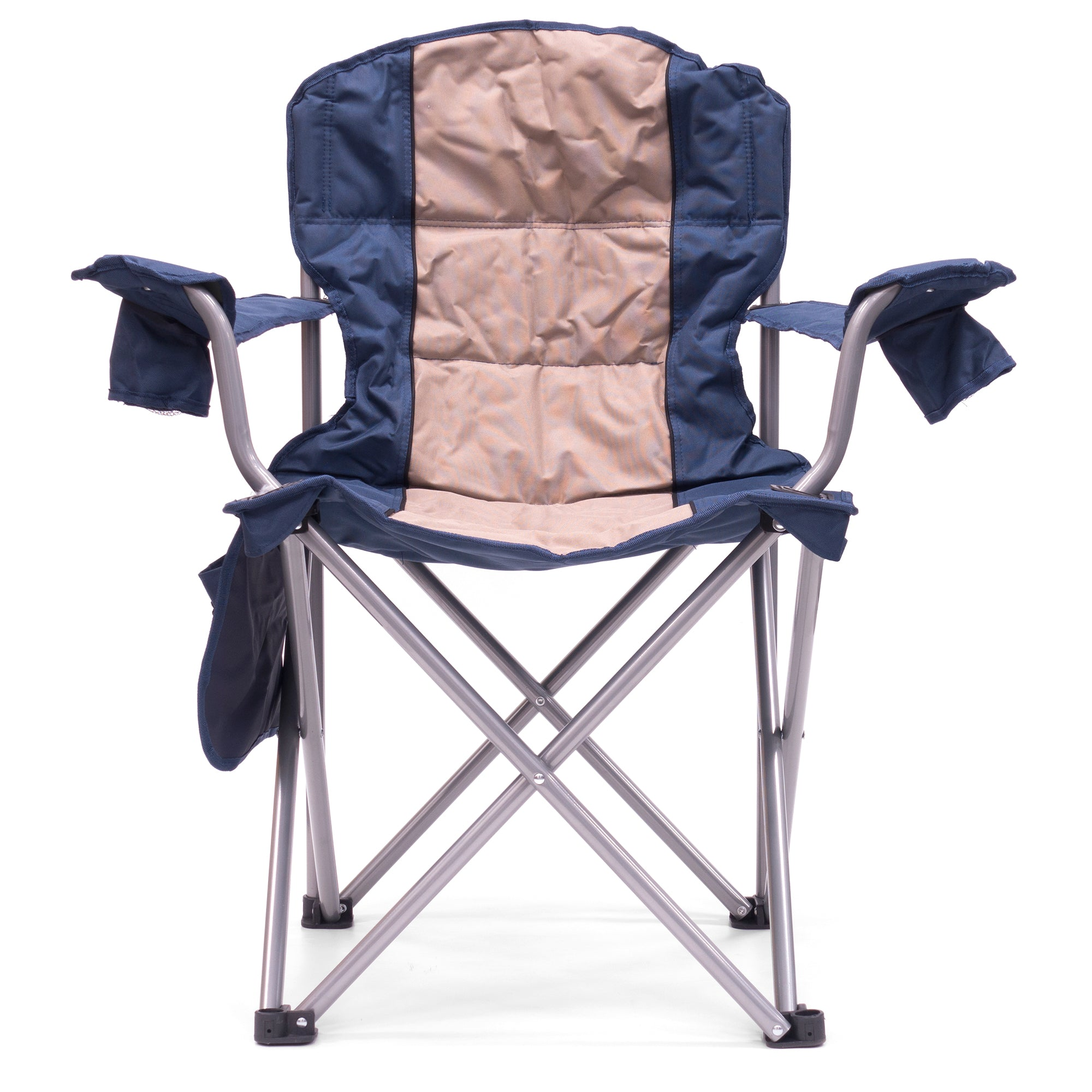 Big Boy Premium Padded Folding Camp Chair Front View