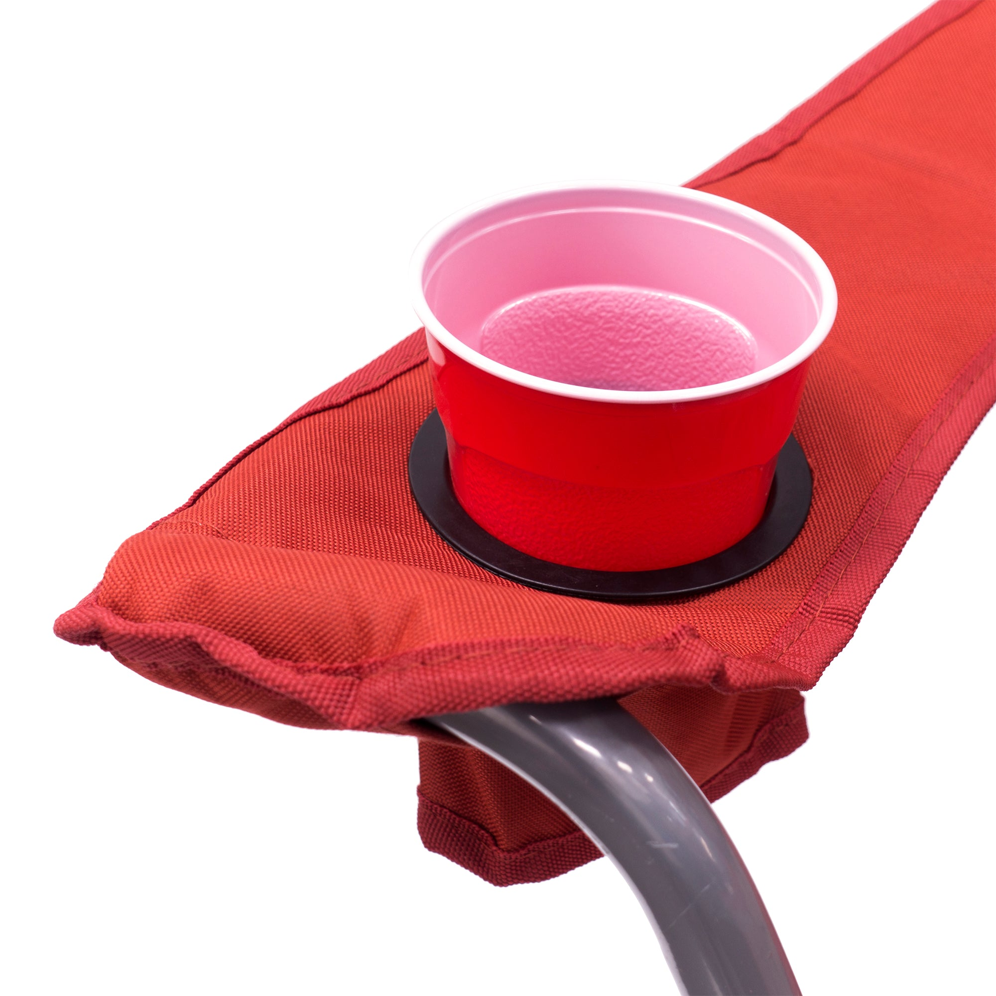 Big Boy Premium Padded Folding Camp Chair Cup Holder