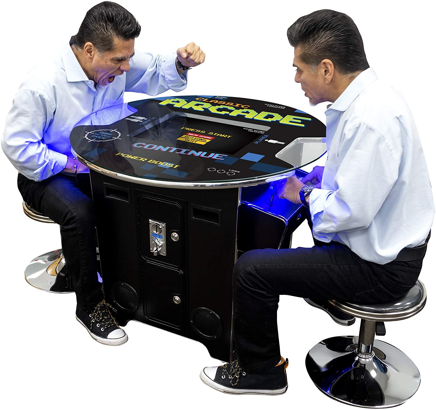 "2 Player Cocktail Arcade with Trackball | 60-412 Classic Games | 22"" LED Screen 