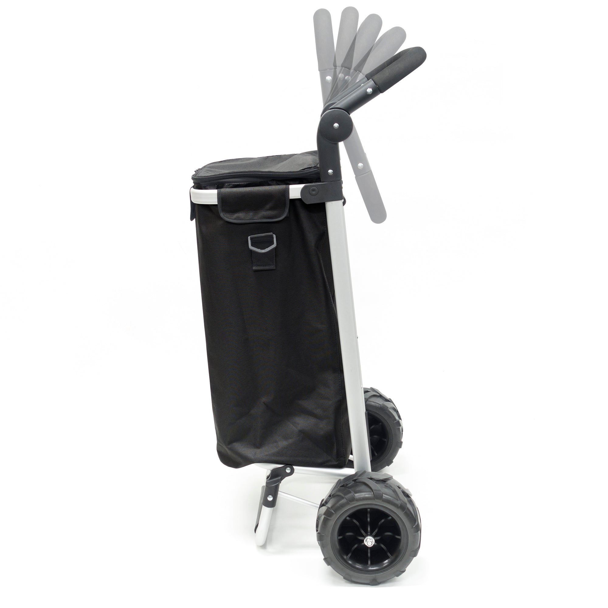 All-Terrain Folding Aluminum Trolley with Adjustable Handle 890300