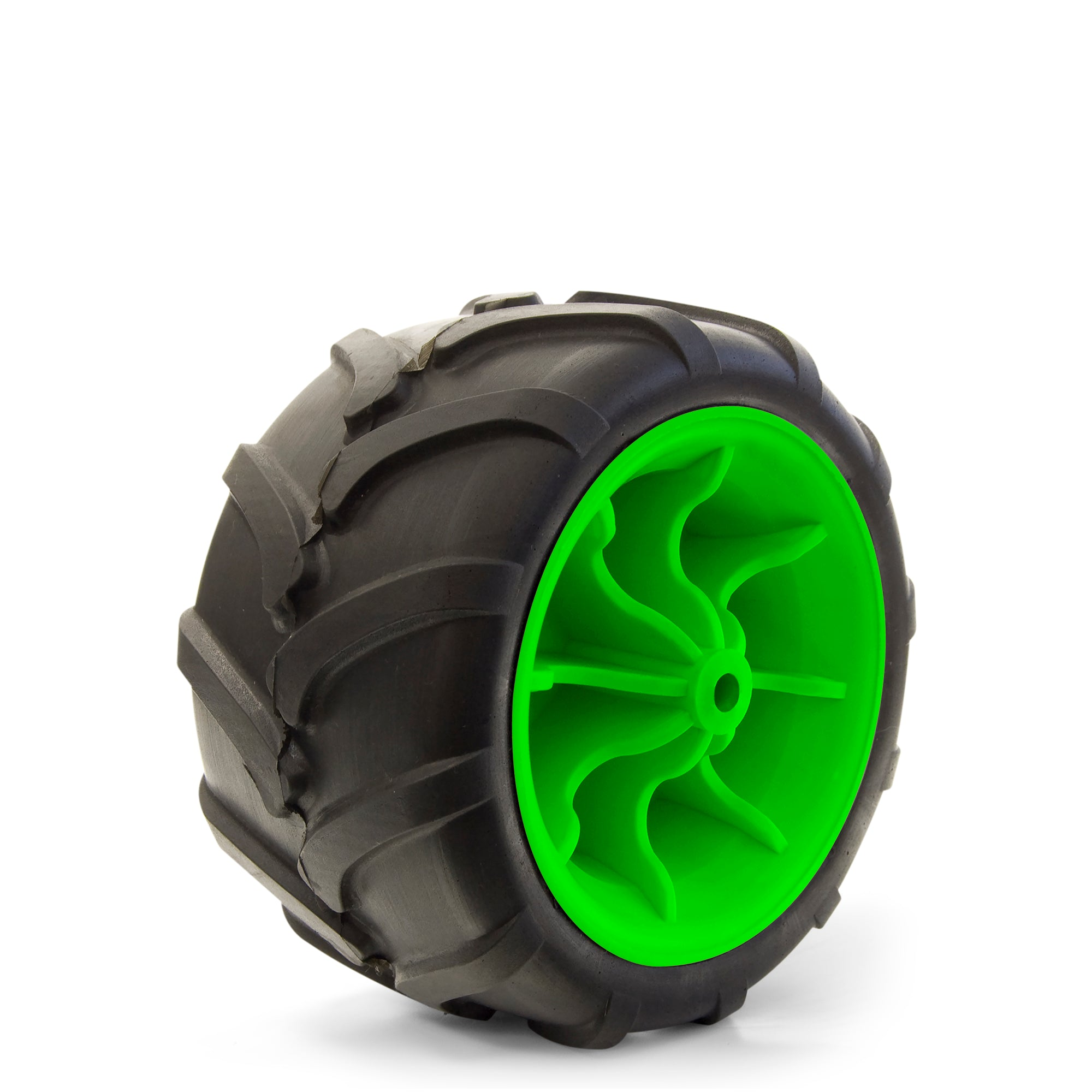 All-Terrain Folding Wagon Wheel Black/Green