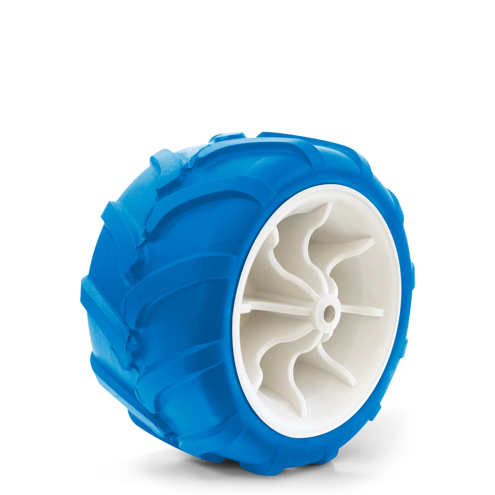 All-Terrain Folding Wagon Wheel Blue/White
