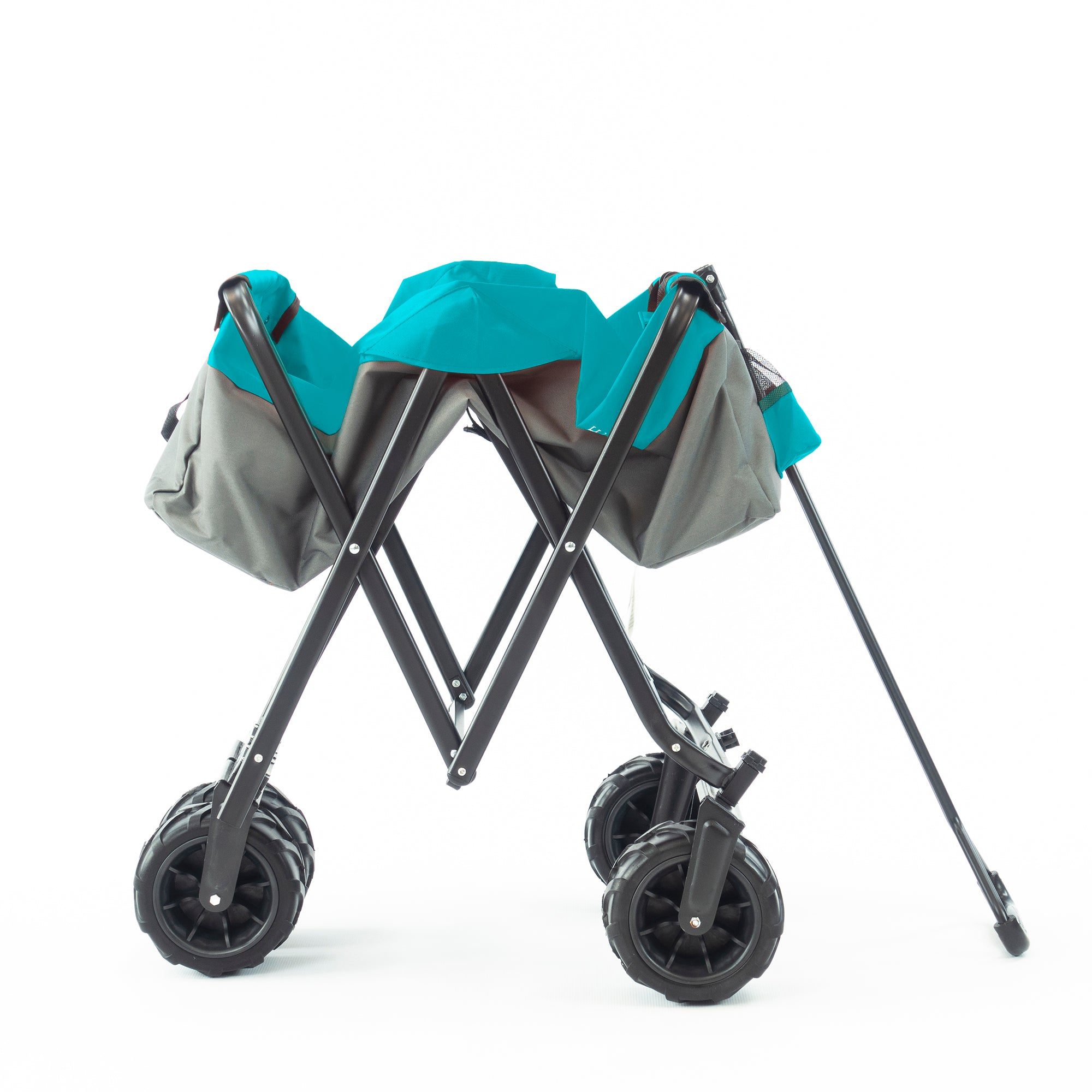 All-Terrain Folding Wagon | Gray Teal