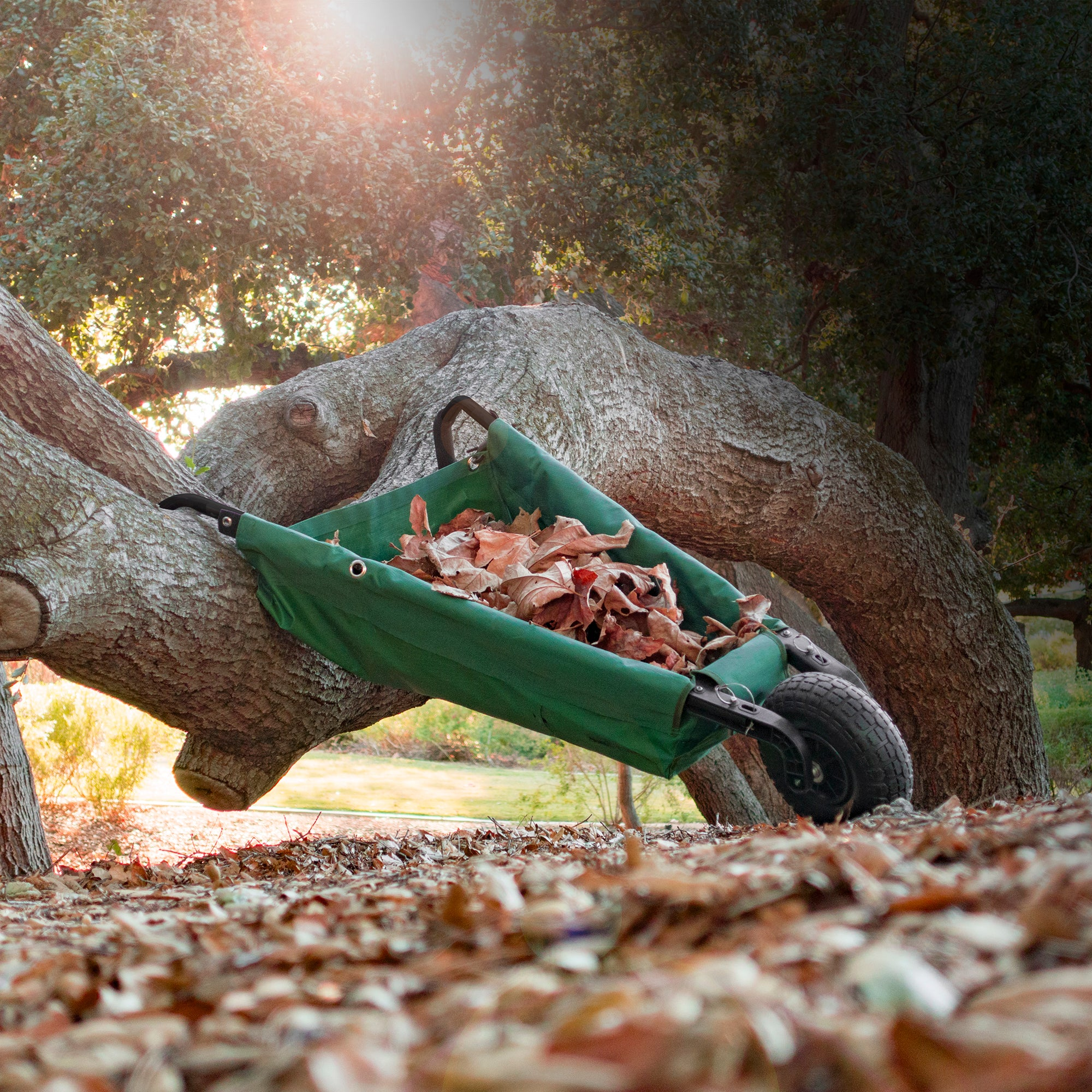 Creative Outdoor Folding Wheelbarrow