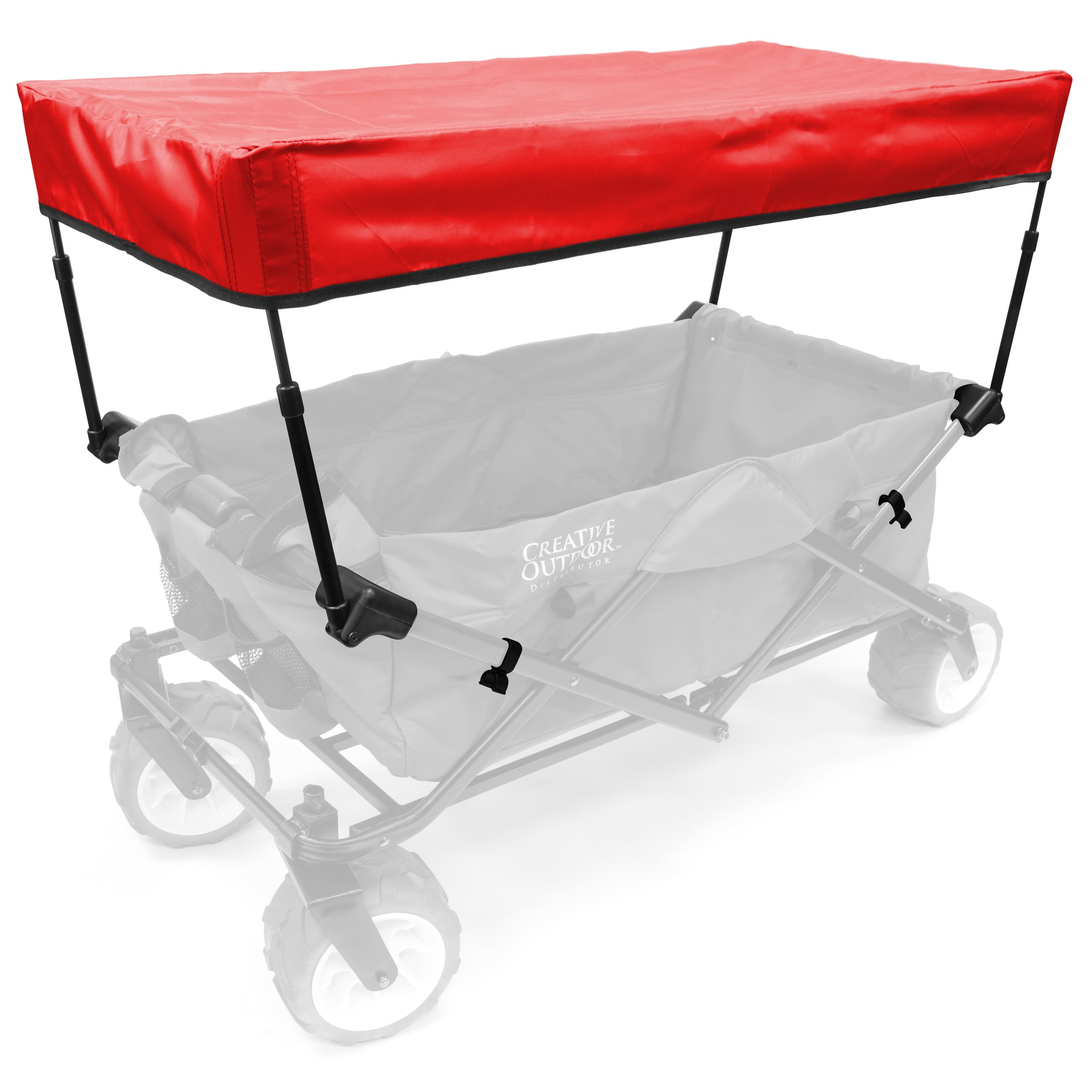 All-Terrain Folding Wagon Add-On Canopy Kit