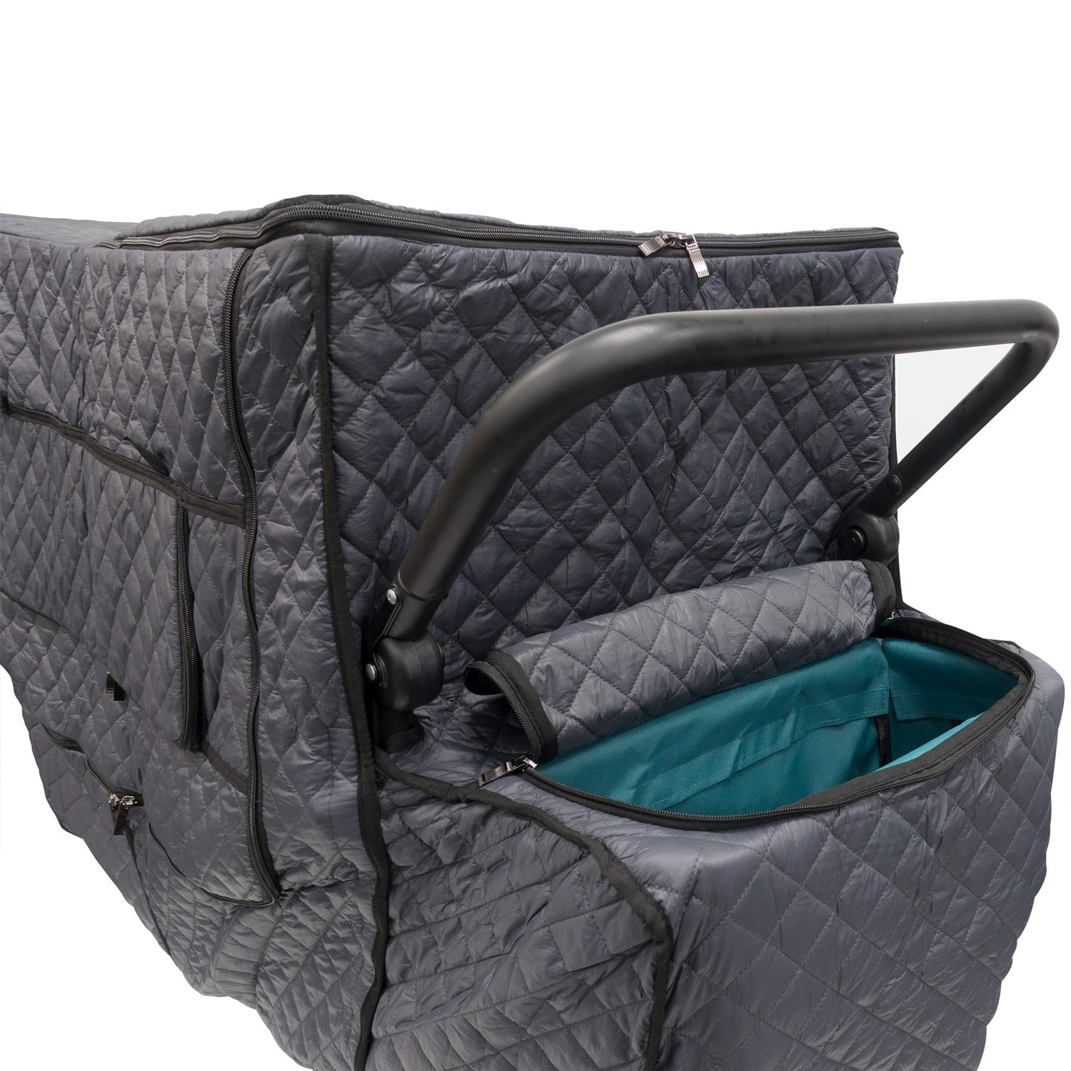 Push Pull Folding Wagon Quilted Insulated Cold Weather Cover Accessory