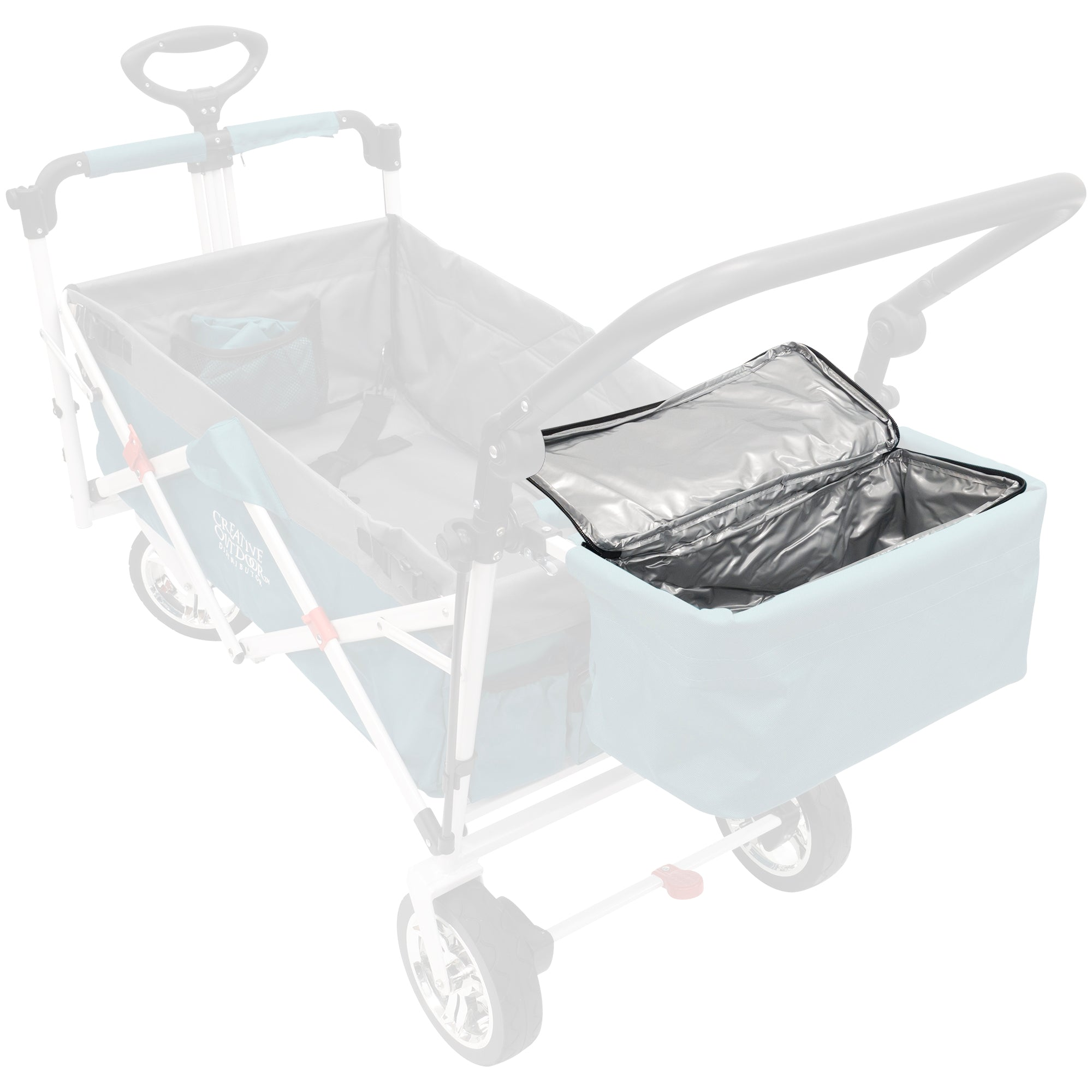 Push Pull Folding Wagon Cooler Bag Accessory