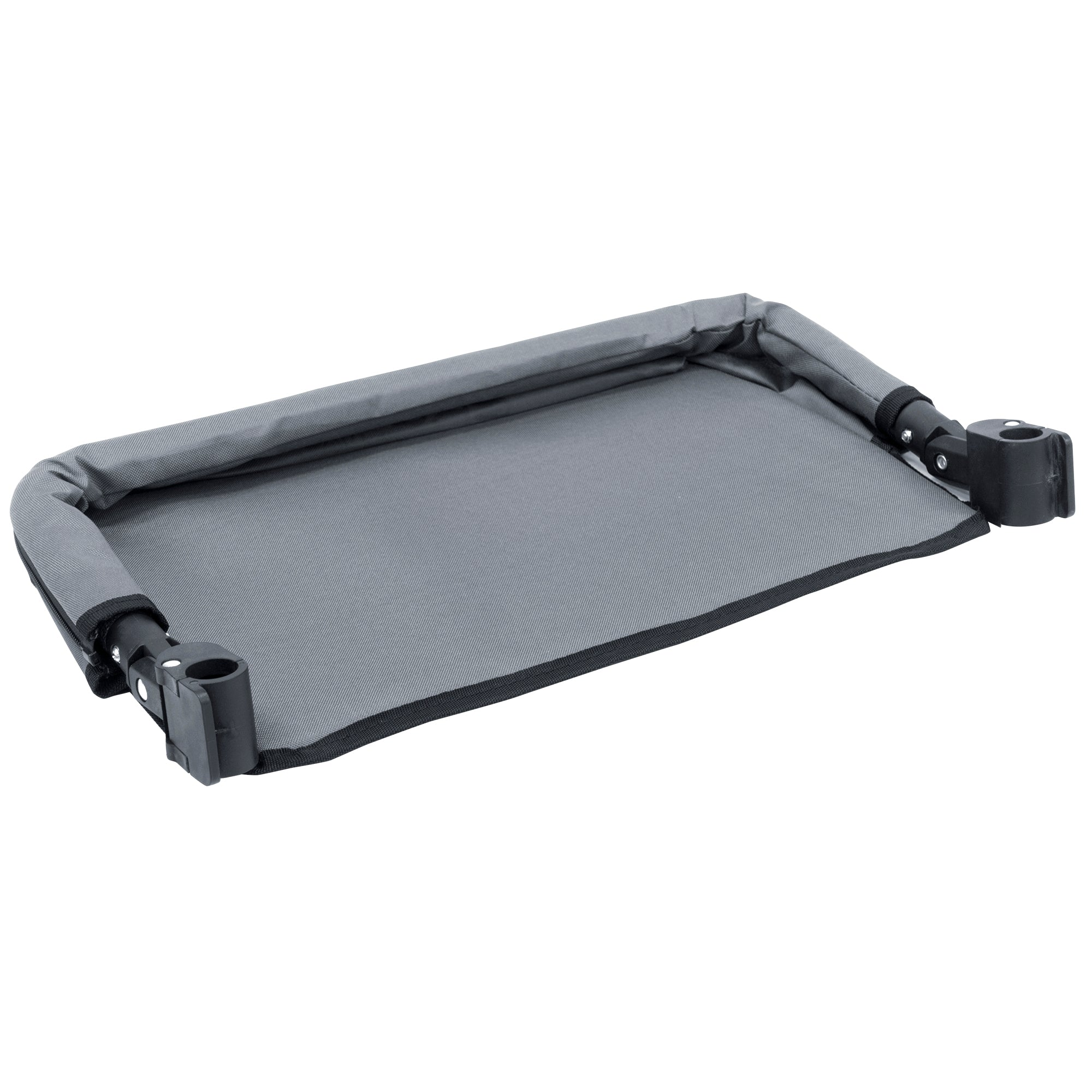 Push Pull Folding Wagon Extension Tray Accessory Gray