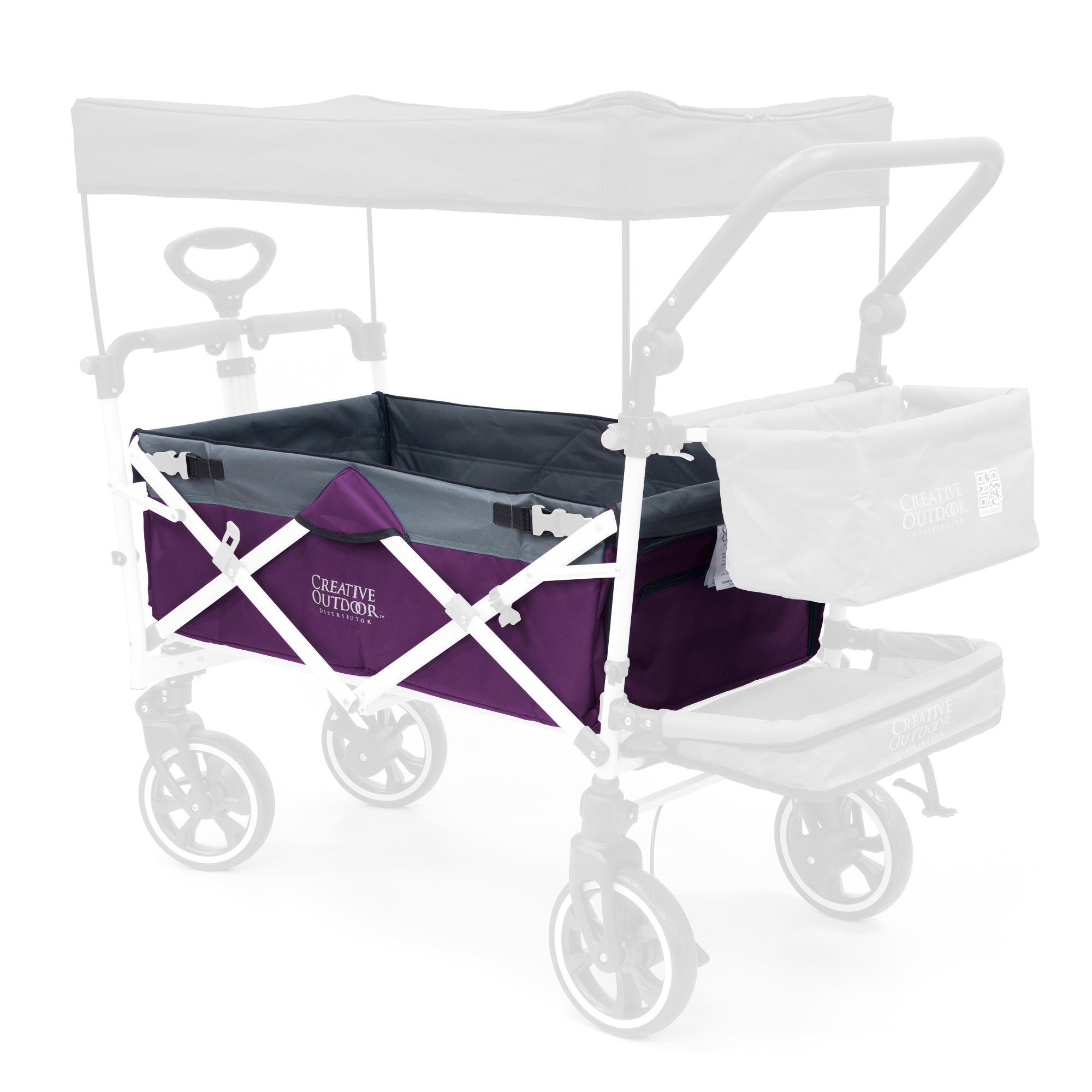 Push Pull Folding Wagon Body Fabric Replacement | Each